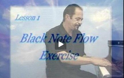PIANO YOGA BY SONNY - FREE LESSON! - The Black Note Flow! Try it!